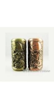 Empaistic Copper Tattoo Grip and Tube Skull Design