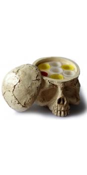 Skull Tattoo Ink Cup Holder