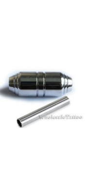 1 Inch - Premium Stainless Steel Grip with back stem