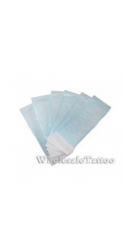 "200 Self-Sealing Sterilization Pouches - Auto Clave Bags 3-1/2"" x 6-1/2"""