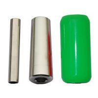 """1"""" Green Silicon Gel Grip (25mmX50mm)"""