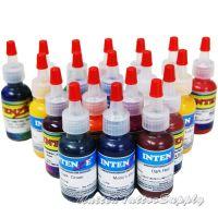 19 Color Intenze Tattoo Ink Set 1/2oz