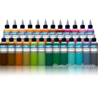 25 Color Intenze Tattoo Ink Set 1oz
