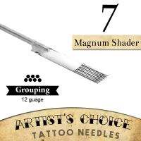 Artist's Choice Tattoo Needles - 7 Curved Magnum 50 Pack