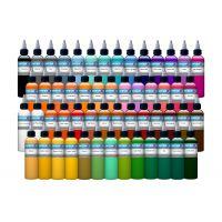 54 Color Intenze Tattoo Ink Set 1oz