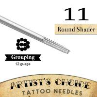 Artist's Choice Tattoo Needles - 9 Round Shader 50 Pack