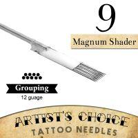 Artist's Choice Tattoo Needles - 9 Magnum Shader 50 Pack