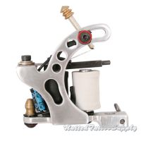 Air Craft Aluminum in Silver plated Liner Tattoo Machine