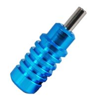 "1"" Blue Aluminum Alloy Grip"