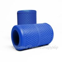 "Autoclavable Textured Tattoo Grip Cover Holder 1.25"" - Blue"