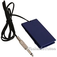 Blue Acrylic Tattoo Power Supply Foot Pedal