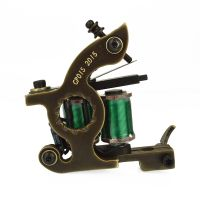 Copperman™ Tattoo Machine Sunflame With CNC Frame - Shader
