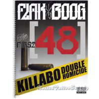 FLAKS vs BOOG | THE FIRST 48 KILLABO Script, Lettering Sketchbook