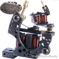 S-CLASS Black Steel Wire Cutting Tattoo Machines For Left Hand Works