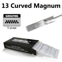 Tattoo Needles - 13 Curved Magnum Needles 50 Pack