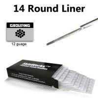 Tattoo Needles - 14 Round Liner 50 Pack