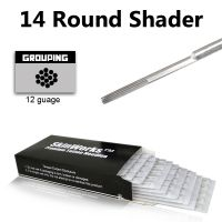Tattoo Needles - 14 Round Shader 50 Pack
