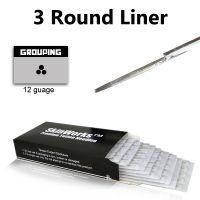 Tattoo Needles - 3 Round Liner 50 Pack