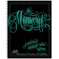 The Manuscript by Huero - Script, Lettering Sketchbook
