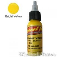 1 oz Eternal Tattoo Ink bright yellow