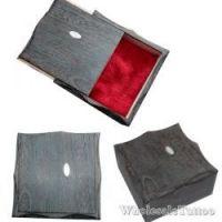 TOP quality BLACK wooden machine box