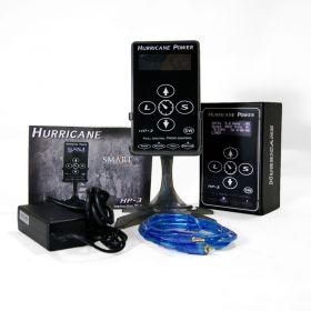 Hurricane HP-3 Black Dual Digital LCD Tattoo Power Supply