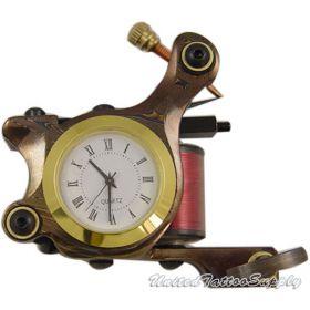 DAMASCUS TATTOO Machine With Clock