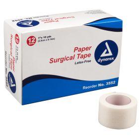 """Dynarex 1"""" Paper Tape (12 rolls)"""