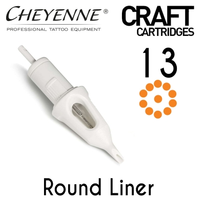 Cheyenne Craft Cartridge needles - 13 Round Liner - 10 Pack