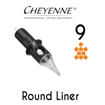 Cheyenne 9 Round Liner Cartridge