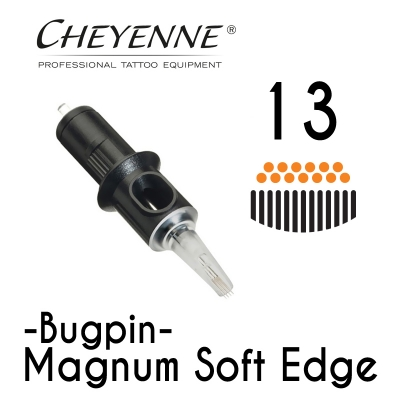 Cheyenne Cartridge - 13 Bugpin Magnum Soft Edge - 10 Pack