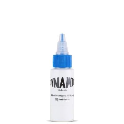 Dynamic Non Mixing Heavy White Tattoo Ink 1 oz Bottle