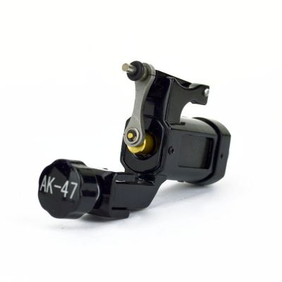 AK-47 BLACK Rotary Tattoo Machine Lightweight Alloy Frame Liner or Shader