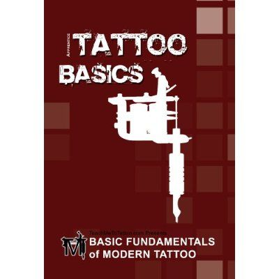 Basic Fundamentals Of Modern Tattoo Book & Welcome Tattoo DVD Combo