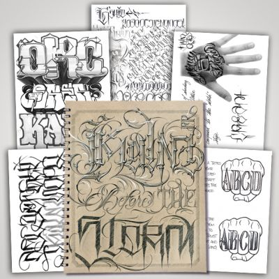 Kalm Before The Storm Flash and Letter Book (50 Pages)
