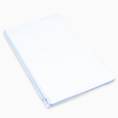 """Poly-backed Drape Sheets 40"""" x 90"""" - 15 Pack"""