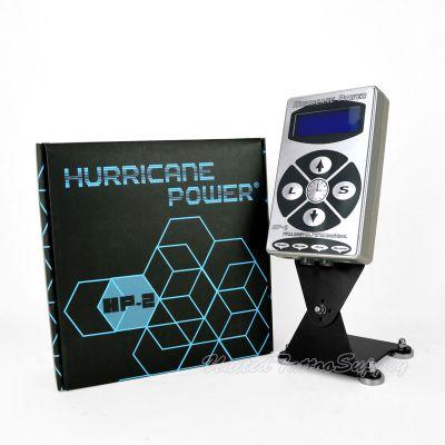 SILVER HURRICANE® DIGITAL TATTOO MACHINE POWER
