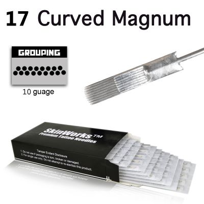 Tattoo Needles - #10 Bugpin 17 Curved Magnum 50 Pack