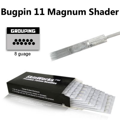 Tattoo Needles - #8 Bugpin 11 Magnum Shader