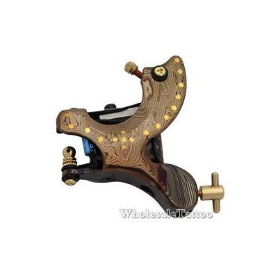 Brass Point Insert DAMASCUS TATTOO Machine