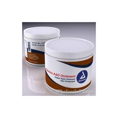 Dynarex Vitamins A&D Ointment, 15 oz Jar