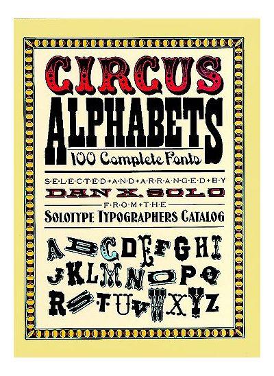 Circus Alphabets