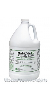 1 Gallon Madacide FD Germicidal Solution Hard Surface Disinfectant