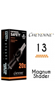 Cheyenne Cartridge- 13 Magnum - 10 Pack