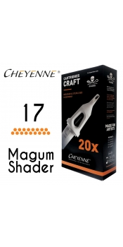 Cheyenne Craft Cartridge needles - 17 Magnum - 10 Pack