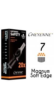 Cheyenne Cartridge- 7 Magnum Soft Edge - 10 Pack