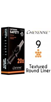 Cheyenne Cartridge -9 Bugpin Round Liner-10 Pack
