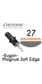 Cheyenne Cartridge - 27 Bugpin Magnum Soft Edge - 10 Pack