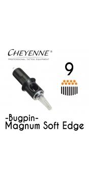 Cheyenne Cartridge - 9 Bugpin Magnum Soft Edge - 10 Pack