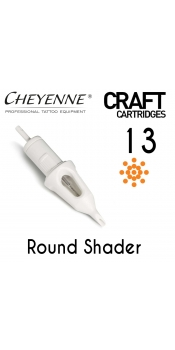 Cheyenne Craft Cartridge needles - 13 Round Shader - 10 Pack
